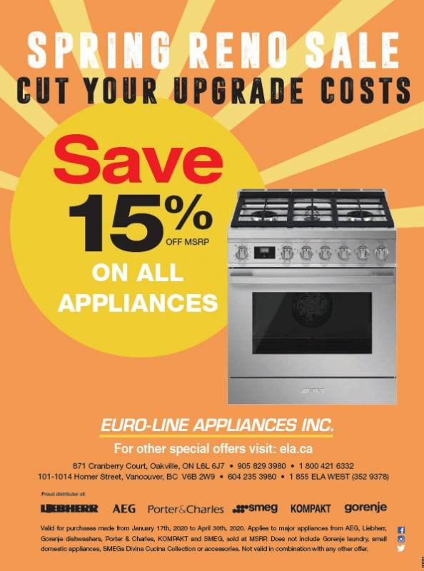 Appliances Spring Reno Sale