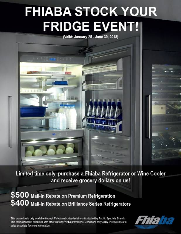 Fhiaba Stock Your Fridge Event!