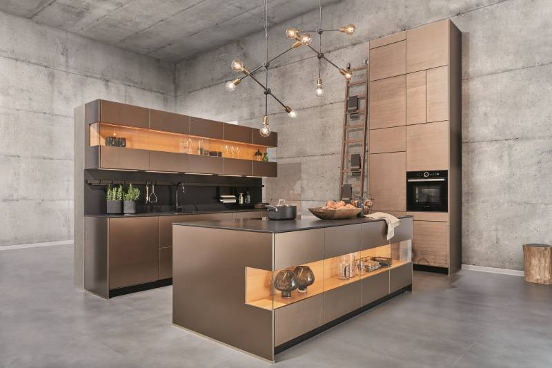 Zeyko Handleless Kitchen Cabinetry